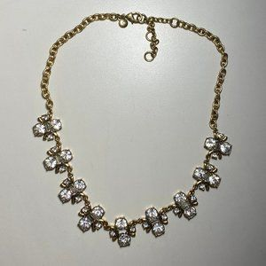 J. Crew Crystal Symmetry Necklace